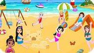 Игра Принцессы Диснея: Игры На Пляже