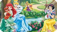 Игра Принцессы Диснея: Искать Буквы