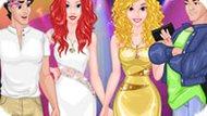 Игра Принцессы Диснея: Из Колледжа На Вечеринку