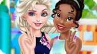 Игра Принцессы Диснея: Эльза И Тиана Лучшие Подруги