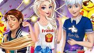 Игра Принцессы Диснея: Эмоджи Вечеринка
