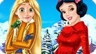 Игра Принцессы Диснея: Каникулы Рапунцель И Белоснежки