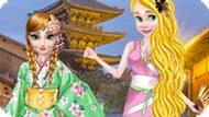 Игра Принцессы Диснея: Кимоно Или Ципао
