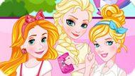 Игра Принцессы Диснея: Команда Блондинок