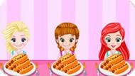 Игра Принцессы Диснея: Конкурс Поедания Хот-Догов