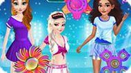 Игра Принцессы Диснея: Конкурс Спиннеров