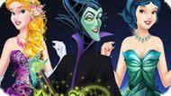 Игра Принцессы Диснея: Королевская Жизнь Для Злодеек