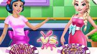 Игра Принцессы Диснея: Кулинарный Конкурс