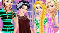 Игра Принцессы Диснея: Ленивые Выходные