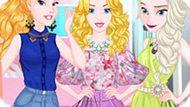 Игра Принцессы Диснея: Летняя Распродажа