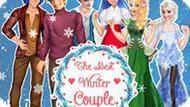 Игра Принцессы Диснея: Лучшая Зимняя Пара