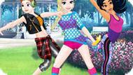 Игра Принцессы Диснея: Манекен Челлендж