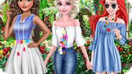 Игра Принцессы Диснея: Мода С Балабонами