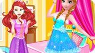 Игра Принцессы Диснея: Модная Битва Анны И Ариэль