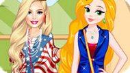 Игра Принцессы Диснея: Модные Блондинки