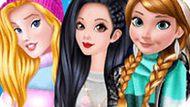 Игра Принцессы Диснея: Модные Куртки