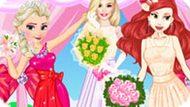 Игра Принцессы Диснея: Модные Подружки Невесты