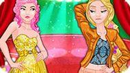 Игра Принцессы Диснея: Модные Соперники Рапунцель И Золушка