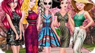 Игра Принцессы Диснея: Модные Узоры