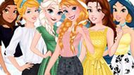 Игра Принцессы Диснея: Модный Журнал Эльзы