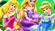 Игра Принцессы Диснея На Пикнике