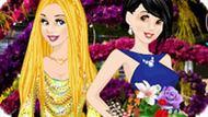 Игра Принцессы Диснея На Выставке Цветов