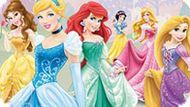 Игра Принцессы Диснея: Найди Отличия