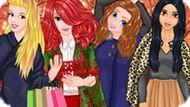Игра Принцессы Диснея: Новогодние Соперники