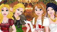 Игра Принцессы Диснея: Новогодний Бал