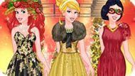 Игра Принцессы Диснея: Новогодний Показ Мод