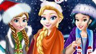 Игра Принцессы Диснея: Новогодний Шопинг