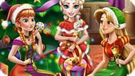 Игра Принцессы Диснея: Новогодняя Вечеринка