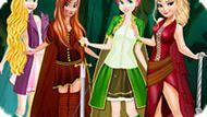 Игра Принцессы Диснея: Охота На Ведьму