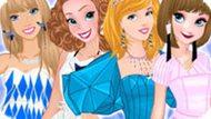 Игра Принцессы Диснея: Оригами Мода