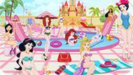 Игра Принцессы Диснея Отдыхают У Бассейна