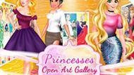 Игра Принцессы Диснея: Открытие Картинной Галереи