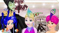 Игра Принцессы Диснея: Парикмахерская