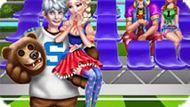 Игра Принцессы Диснея: Парочки В Школе