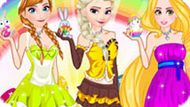 Игра Принцессы Диснея: Пасхальная Мода