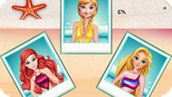 Игра Принцессы Диснея: Педикюр