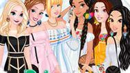 Игра Принцессы Диснея: Платья С Открытыми Плечами