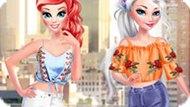 Игра Принцессы Диснея: Подруги В Нью-Йорке