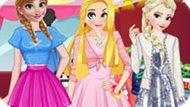 Игра Принцессы Диснея: Повседневный Стиль