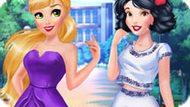 Игра Принцессы Диснея: Рапунцель И Белоснежка Модницы