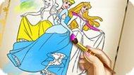 Игра Принцессы Диснея: Раскраски