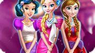 Игра Принцессы Диснея: Ретро Платья