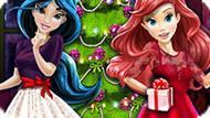 Игра Принцессы Диснея: Рождественская Елка