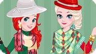 Игра Принцессы Диснея: Рождественские Соперники