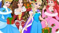 Игра Принцессы Диснея: Рождественский Вечер