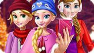 Игра Принцессы Диснея: Рождественское Селфи